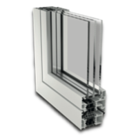 Estructura ventana practicable Renova PR RPT 70 HO Canal 16
